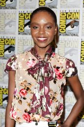 """Ashleigh Murray – """"Riverdale"""" Press Line at SDCC 2018"""