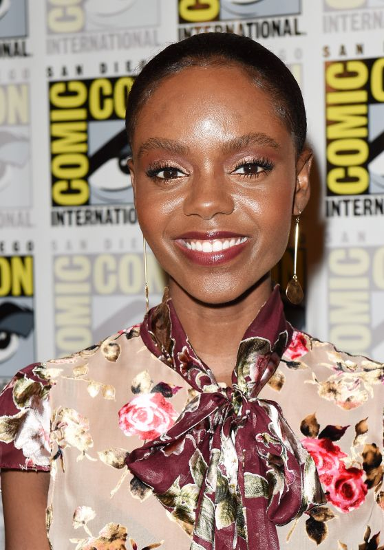 "Ashleigh Murray – ""Riverdale"" Press Line at SDCC 2018"