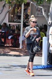 Ashley Benson Drinking Starbucks - Los Angeles 07/16/2018