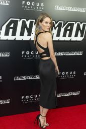 "Ashley Hinshaw – ""BlacKkKlansman"" Premiere in New York"