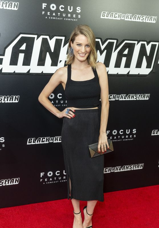 "Ashley Hinshaw – ""BlacKkKlansman"" Premiere in New York"