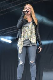 Atomic Kitten Performs in South Sheilds Bents Park 07/29/2018
