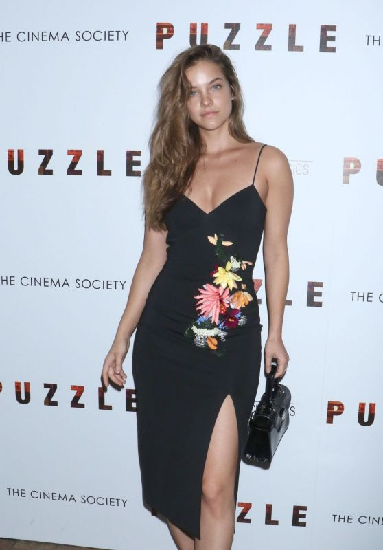 "Barbara Palvin - ""Puzzle"" Screening in New York"