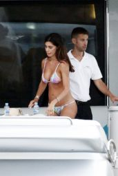 Belen Rodriguez on Vacation in Ibiza 07/18/2018