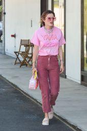 Bella Thorne Street Style - Los Angeles 07/14/2018