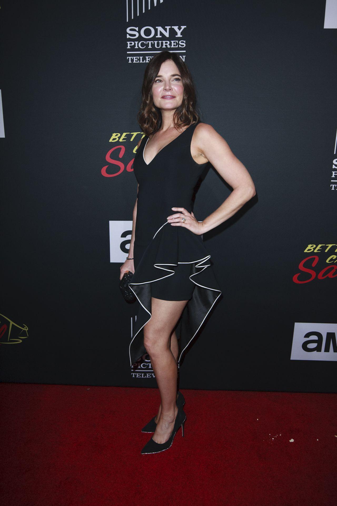 Betsy Brandt Better Call Saul Season 4 Premiere At