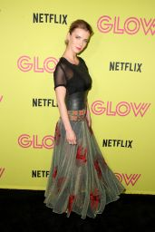 "Betty Gilpin – ""Glow"" Roller Skating Event in LA"