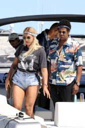 Beyonce and Jay Z in Nice 07/18/2018