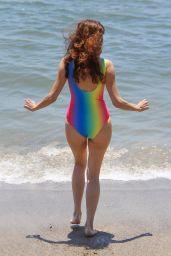 Blanca Blanco in Swimsuit - Paradise Cove in Malibu 07/23/2018