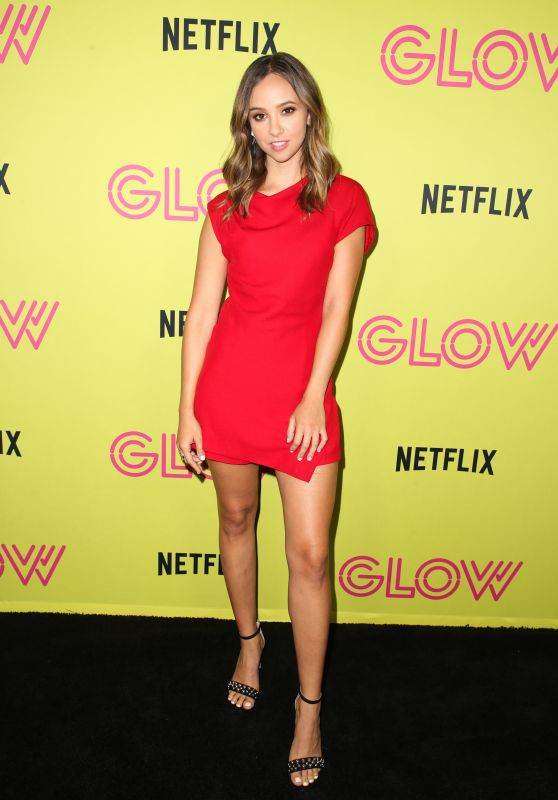 "Britt Baron – ""Glow"" Roller Skating Event in LA"