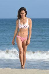 Brooke Burke-Charvet Bikini Photos - Beach in Malibu 07/04/2018