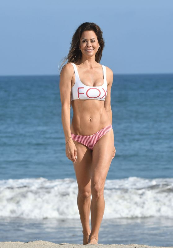 Brooke Burke-Charvet Bikini Photos - Beach in Malibu 07/04/2018