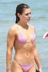 Cambrie Schroder in Bikini - Beach in Miami 07/16/2018