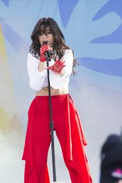 Camila Cabella Performing on Good Morning America