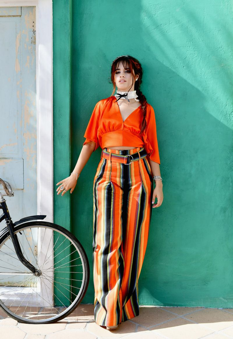 Camila Cabello Launch Of Havana Makeup Collection With L