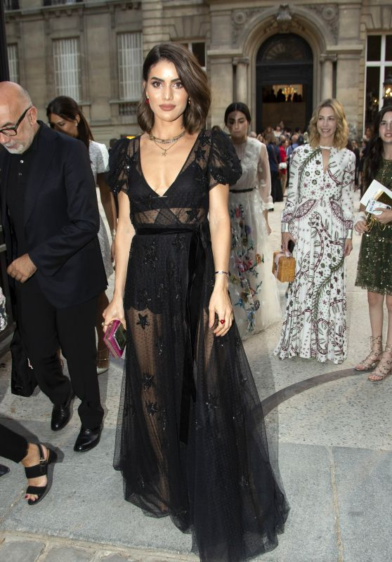 Camila Coelho - Valentino Fashion Show in Paris 07/04/2018