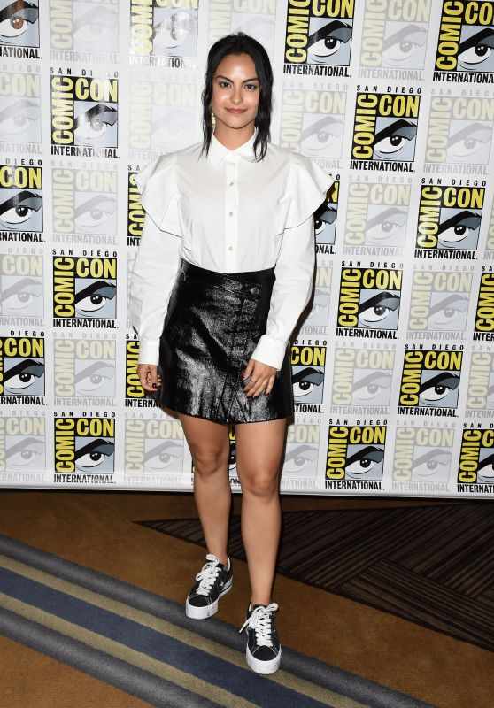"Camila Mendes – ""Riverdale"" Press Line at SDCC 2018"