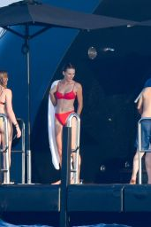 Camila Morrone in Bikini on a Yacht in Saint-Tropez 07/29/2018