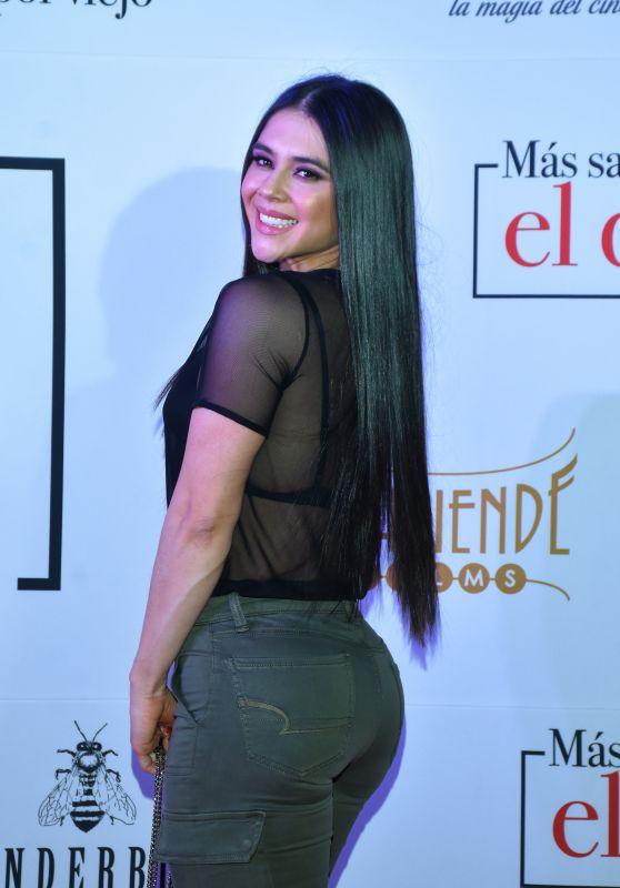 """Camila Rojas – """"Mas Sabe el Diablo por Viejo"""" Premiere in Mexico City"""