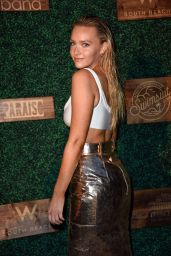 Camille Kostek – 2018 SI Swimsuit Show in Miami