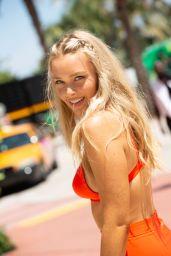 Camille Kostek in Miami Beach - Swim Week 2018