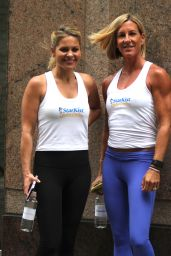Candace Cameron Bure at the Neou Fitness in Manhattan