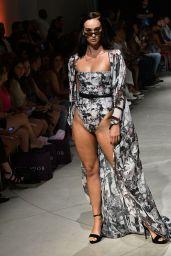Candice Cuoco Fashion Show at Miami Swim Week 07/12/2018