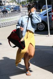 Candice Patton - Arrives in Vancouver 07/22/2018