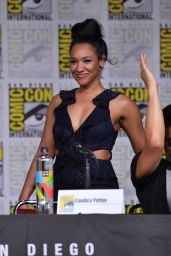 """Candice Patton – """"The Flash"""" Panel at Comic-Con in San Diego 07/21/2018"""