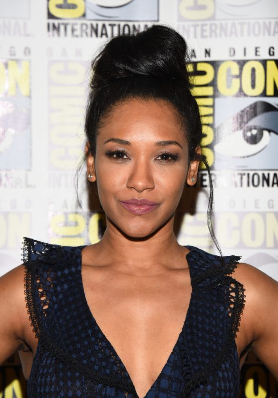 "Candice Patton – ""The Flash"" Panel at Comic-Con in San Diego 07/21/2018"