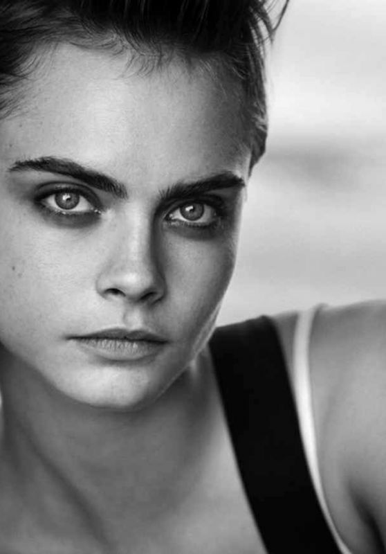 Cara Delevingne - Douglas Cosmetics Photoshoot 2018
