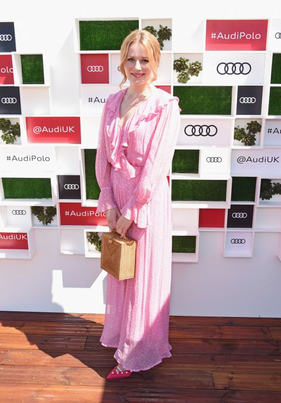Cara Theobold – Audi Polo Challenge in Ascot 07/01/2018