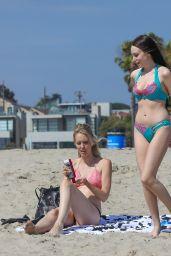 Carla Tempesta in Bikini at the Beach 07/17/2018