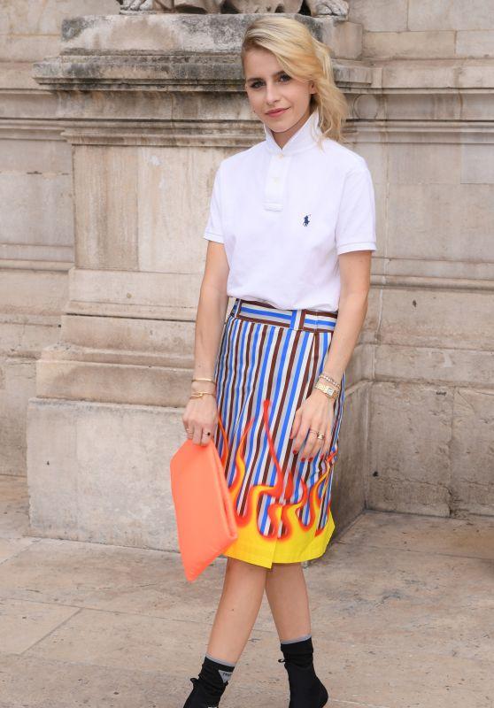 Caroline Daur - Schiaparelli Haute Couture Fall Winter 2018/2019 Show in Paris