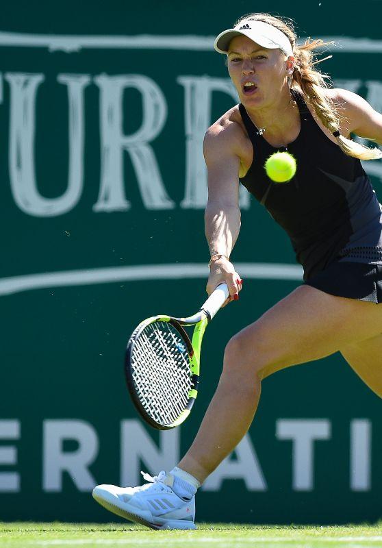 Caroline Wozniacki - Eastbourne Tournament 2018 in Eastbourne 06/28/2018