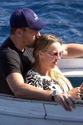 Caroline Wozniacki in Bikini - Holiday in Capri 07/11/2018