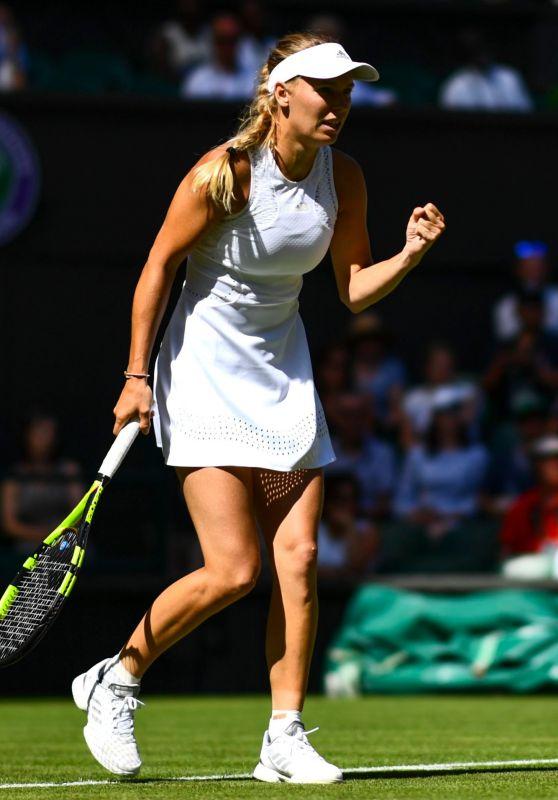 Caroline Wozniacki – Wimbledon Tennis Championships in London 07/02/2018