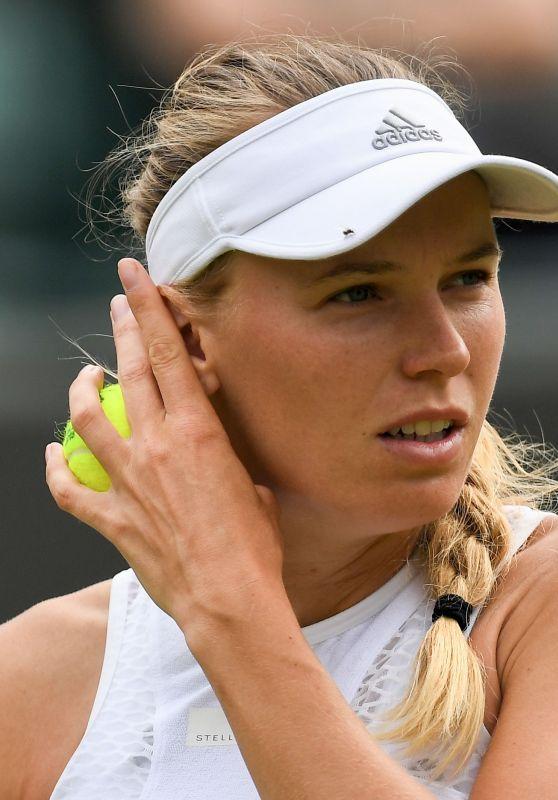 Caroline Wozniacki – Wimbledon Tennis Championships in London 07/04/2018