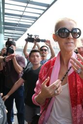 Celine Dion at Taipei Songshan Airport 07/15/2018