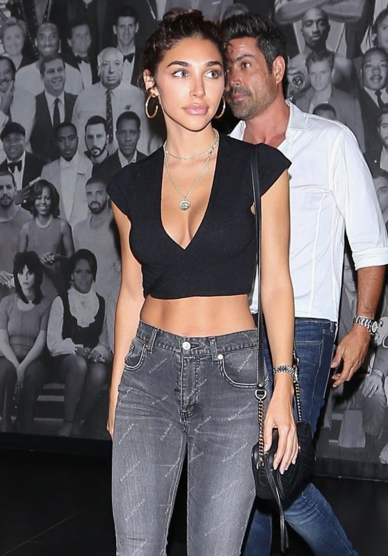 Chantel Jeffries at Catch LA 07/25/2018