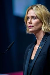 Charlize Theron - AIDS Conference 2018 in Amsterdam