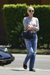 Charlize Theron - Arrives at Dance Class in LA, July 2018