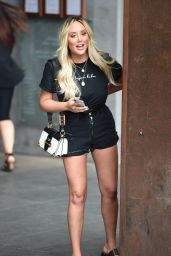 Charlotte Crosby Leggy in Shorts - Manchester 07/24/2018