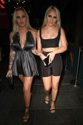 Che Mcsorley and Leonie Mcsorley Arrive at Neighbourhood Bar in Manchester 07/26/2018