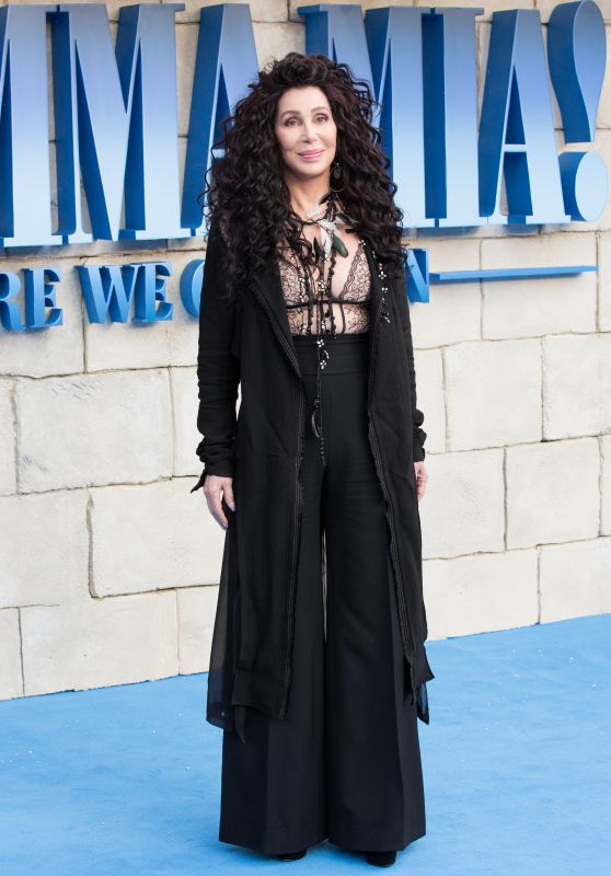"Cher – ""Mamma Mia: Here We Go Again"" Premiere in London"