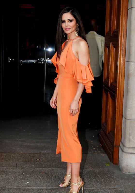 Cheryl Tweedy - Arriving at Syco Summer Partyin London