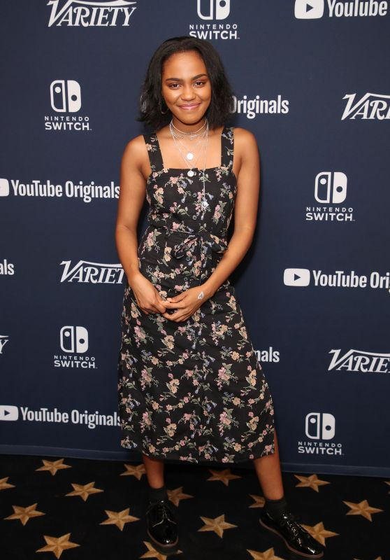 China Anne McClain – Variety Studio SDCC 2018