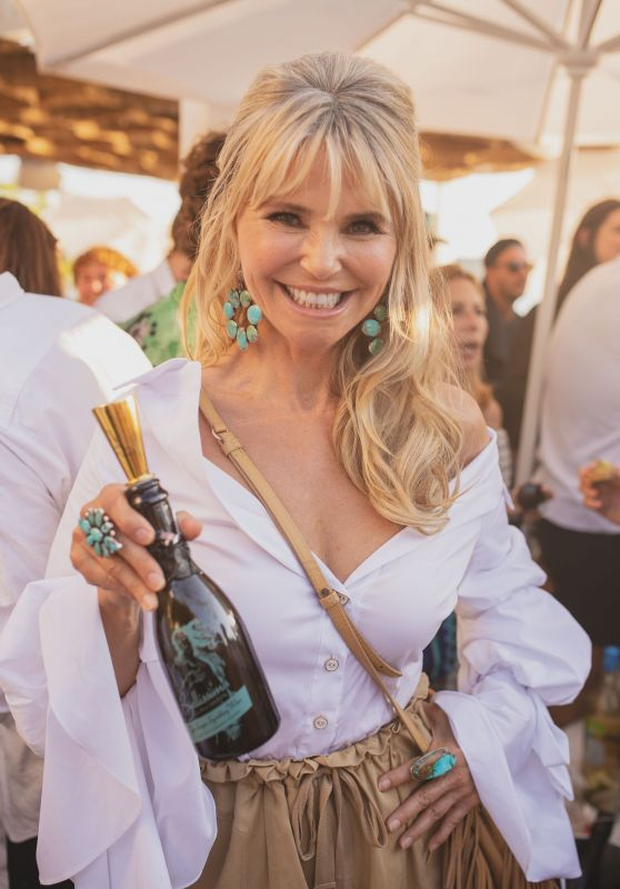 Christy Brinkley – Bellissima Bambini Launch in Montauk