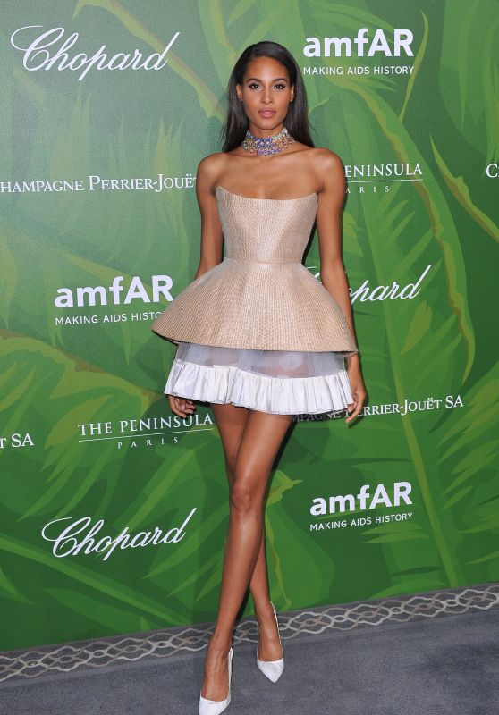Cindy Bruna – amfAR Paris Dinner 2018