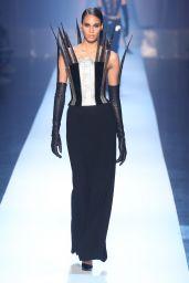 Cindy Bruna Walks Jean Paul Gaultier Fashion Show in Paris 07/04/2018